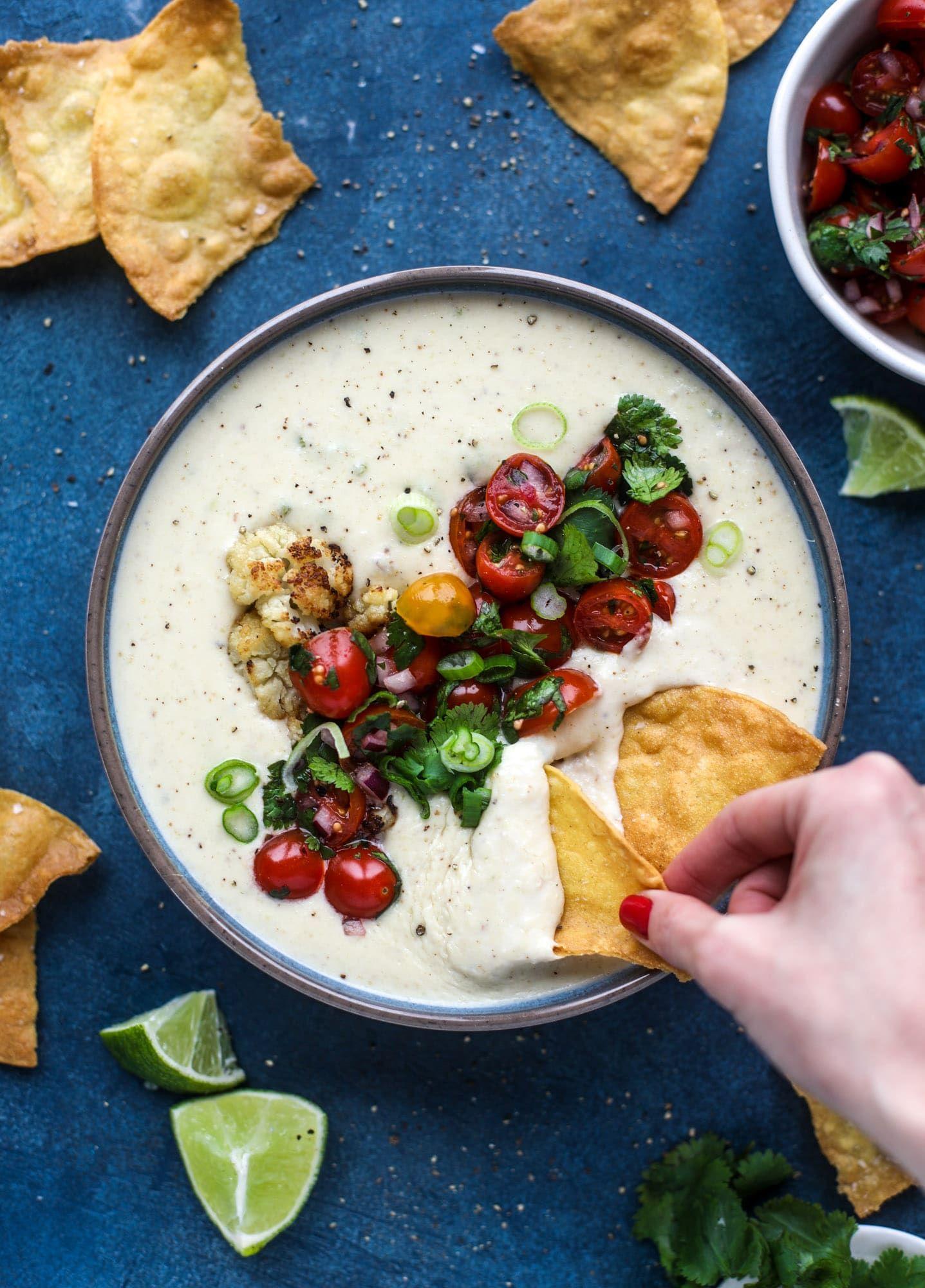 Cauliflower Cheese Dip
