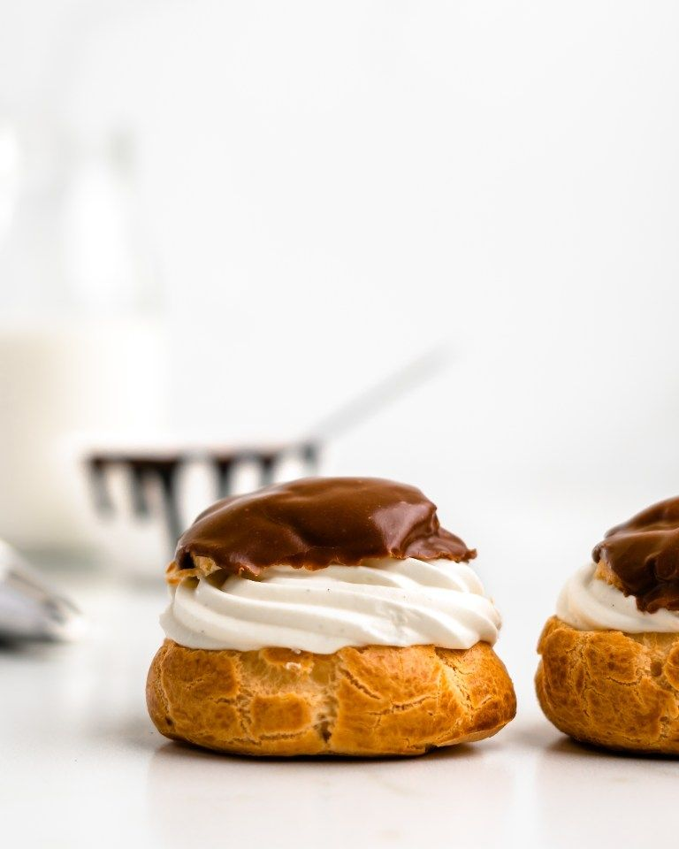 Vanilla Bean Cream Puffs