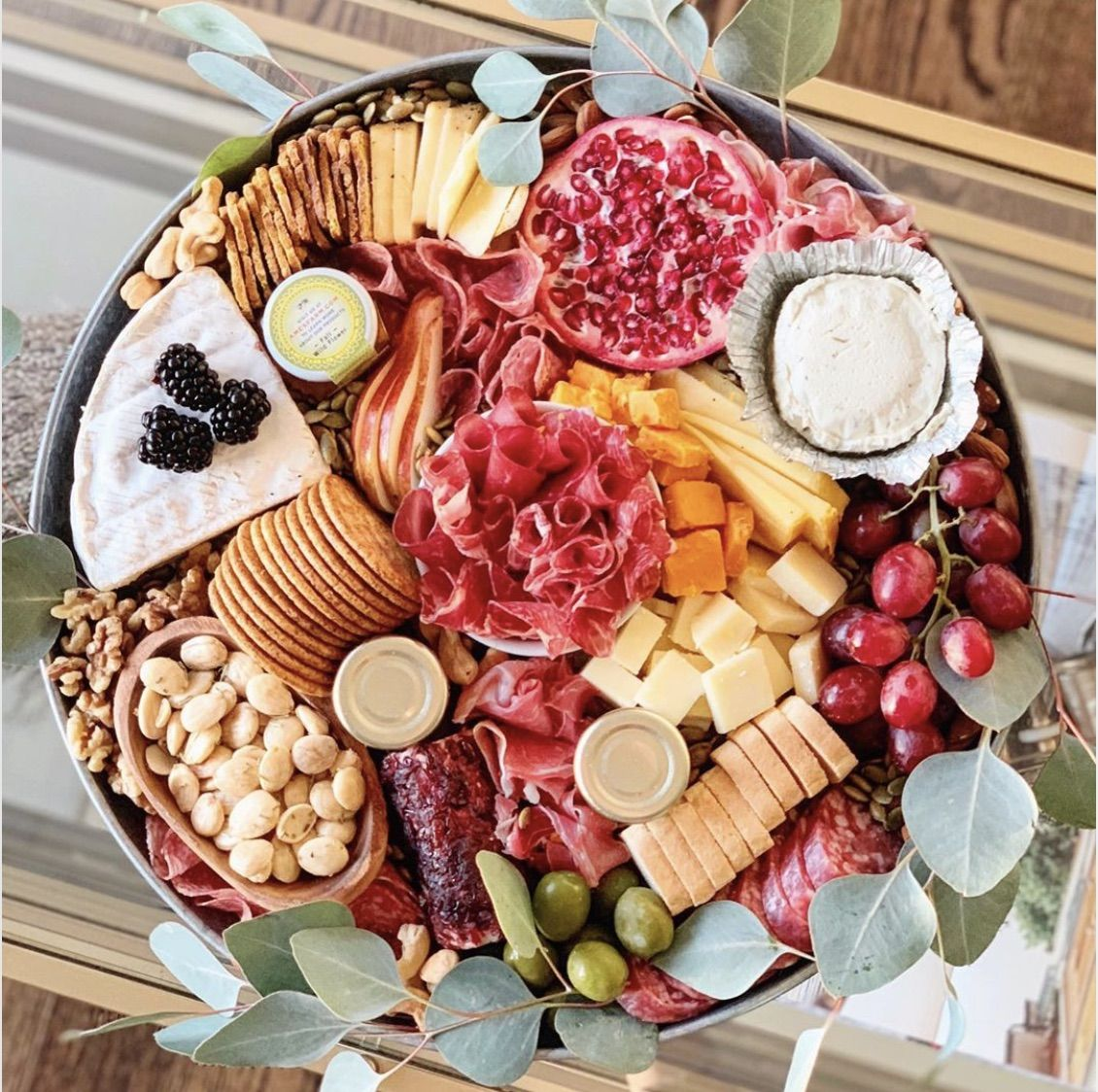 Italian Cheese And Charcuterie Board By Cheeseboardqueen Quick Easy Recipe The Feedfeed