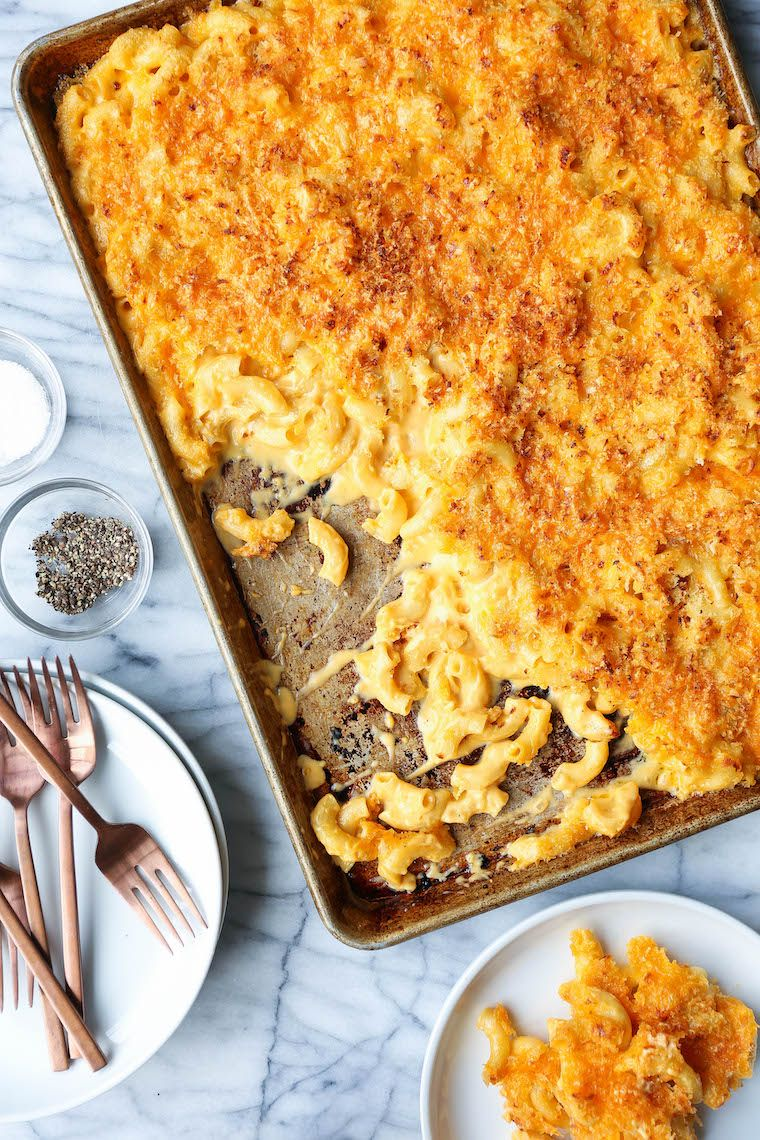Crunchy Sheet Pan Mac and Cheese