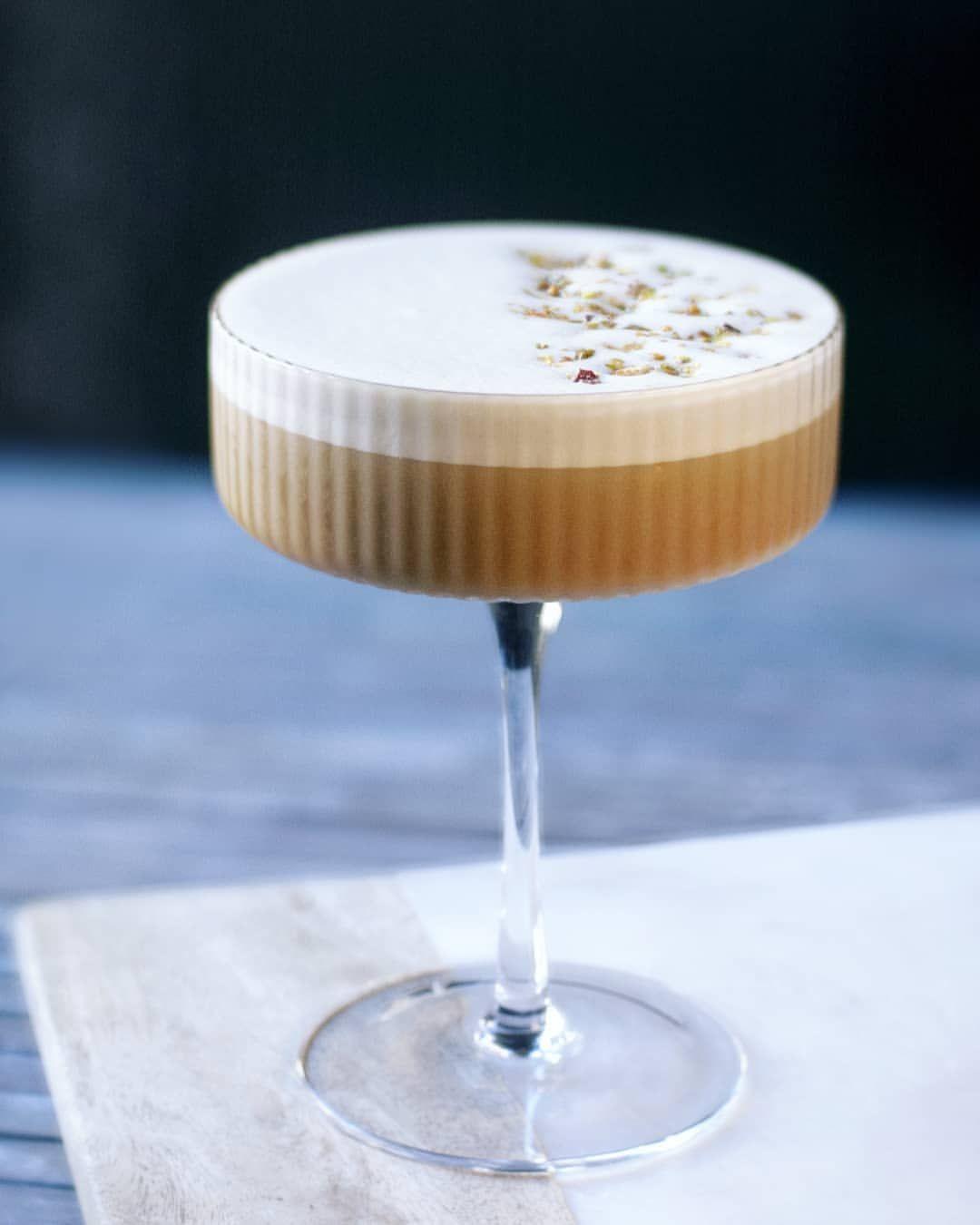 Pistachio Irish Whiskey Cocktail