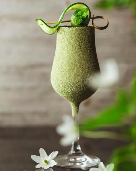 Lemon Blackcurrant Cocktail