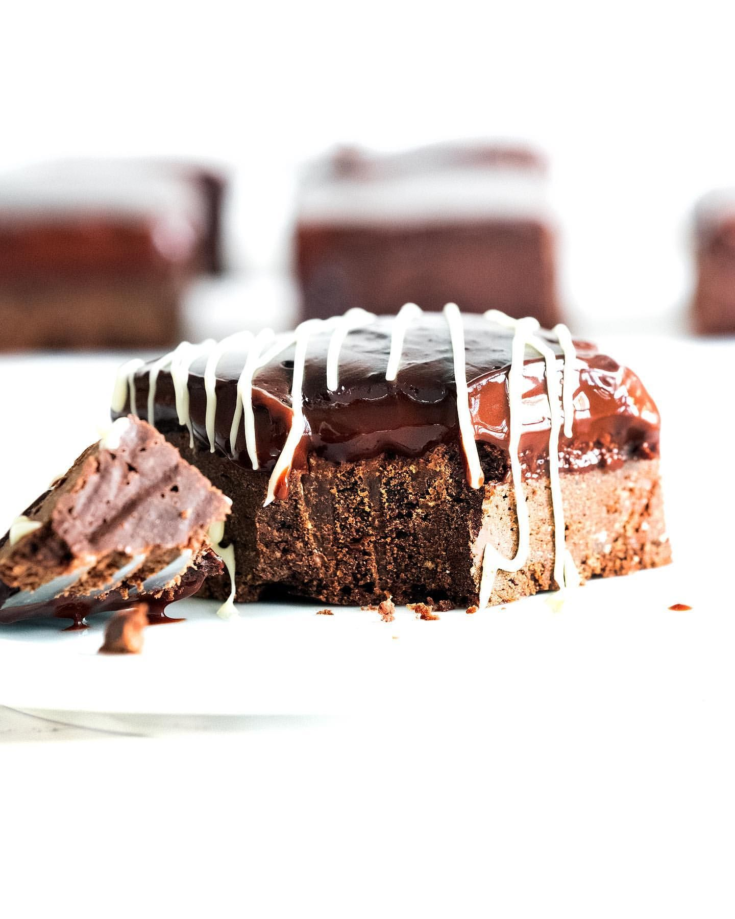 Double Chocolate Chickpea Brownies