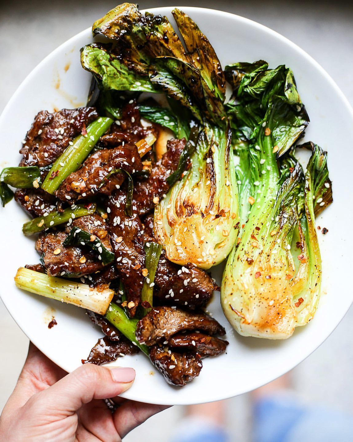 Beef And Bok Choy Stir Fry By Thedefineddish Quick Easy Recipe The Feedfeed