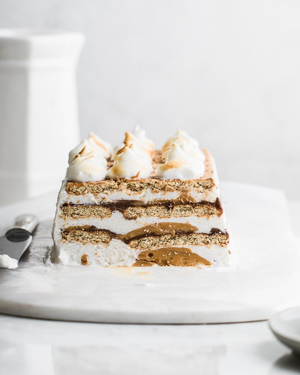 Peanut Butter S'Mores Icebox Cake