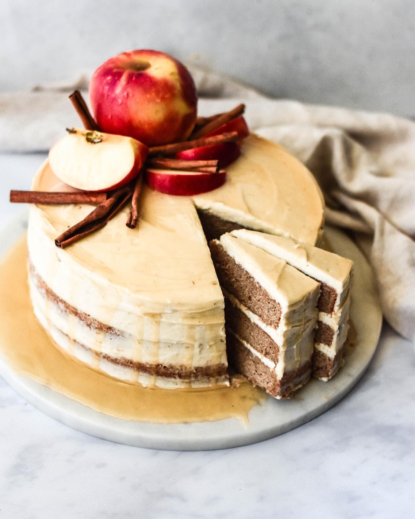 Apple Cider Bourbon Cake