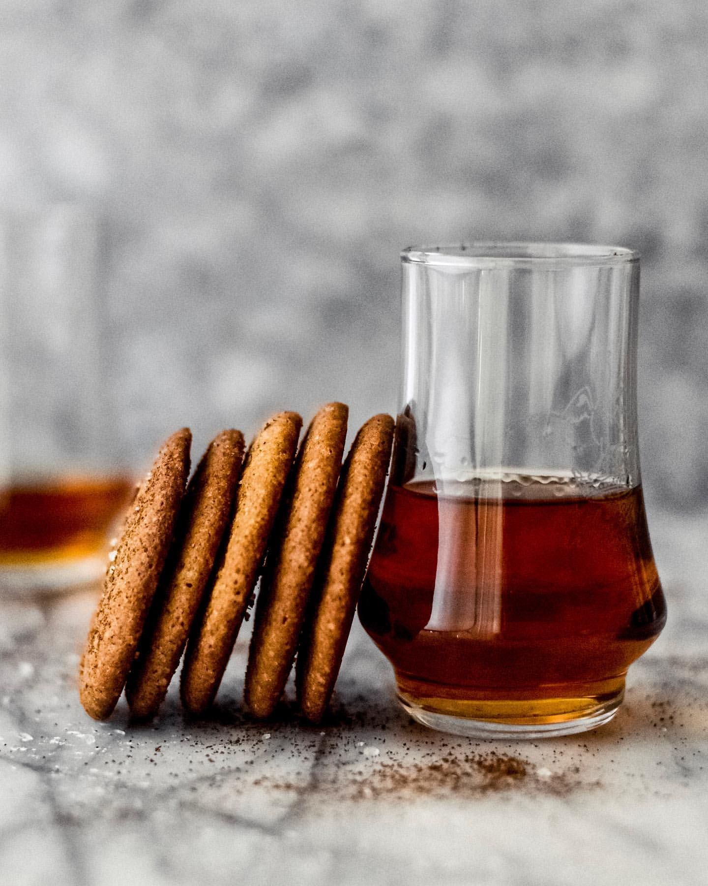 Spiced Bourbon Cookies