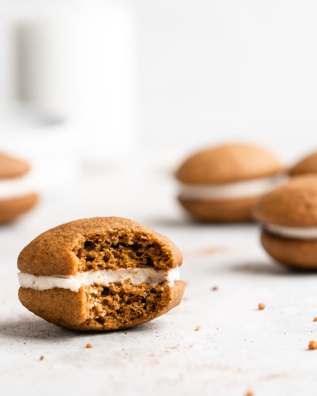 Fluffy Pumpkin Whoopie Pies By Food Duchess Quick Easy Recipe The Feedfeed