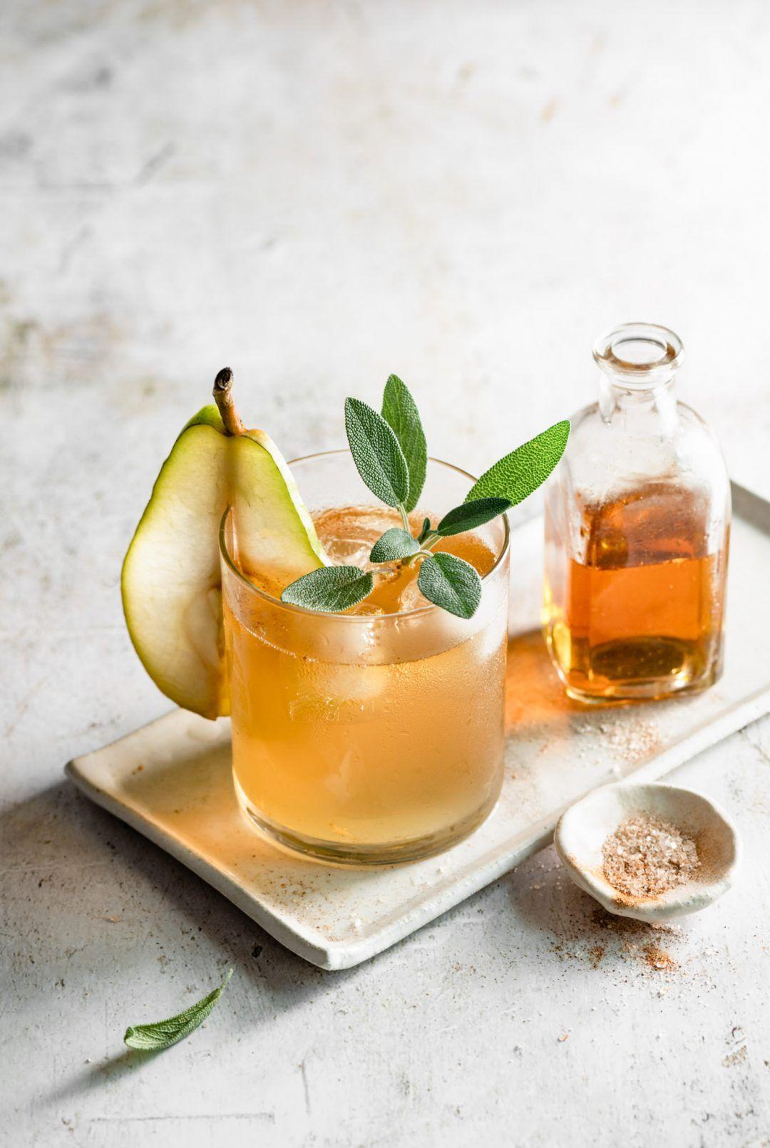 Bourbon Pear Cider