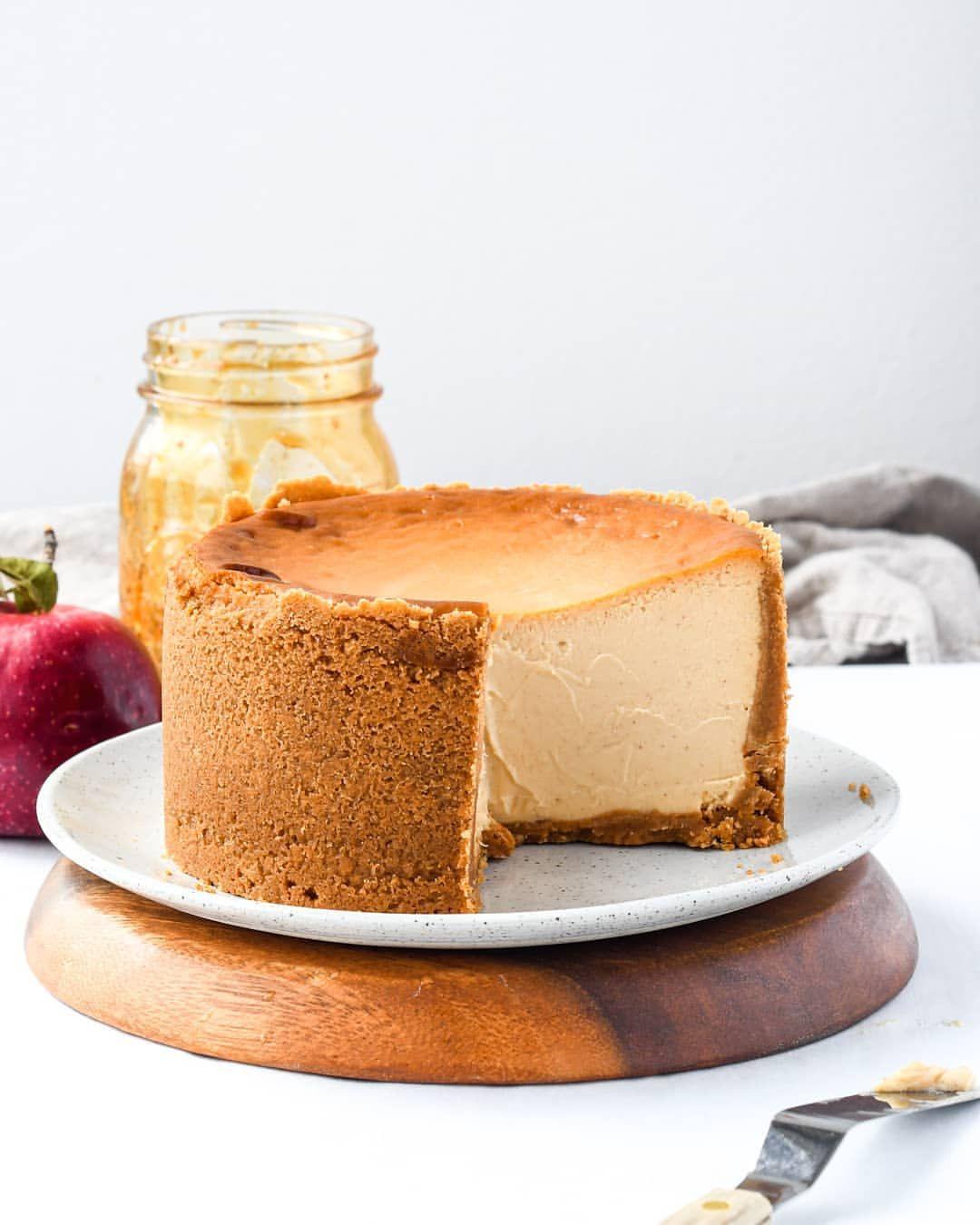 Apple Cider Cheesecake