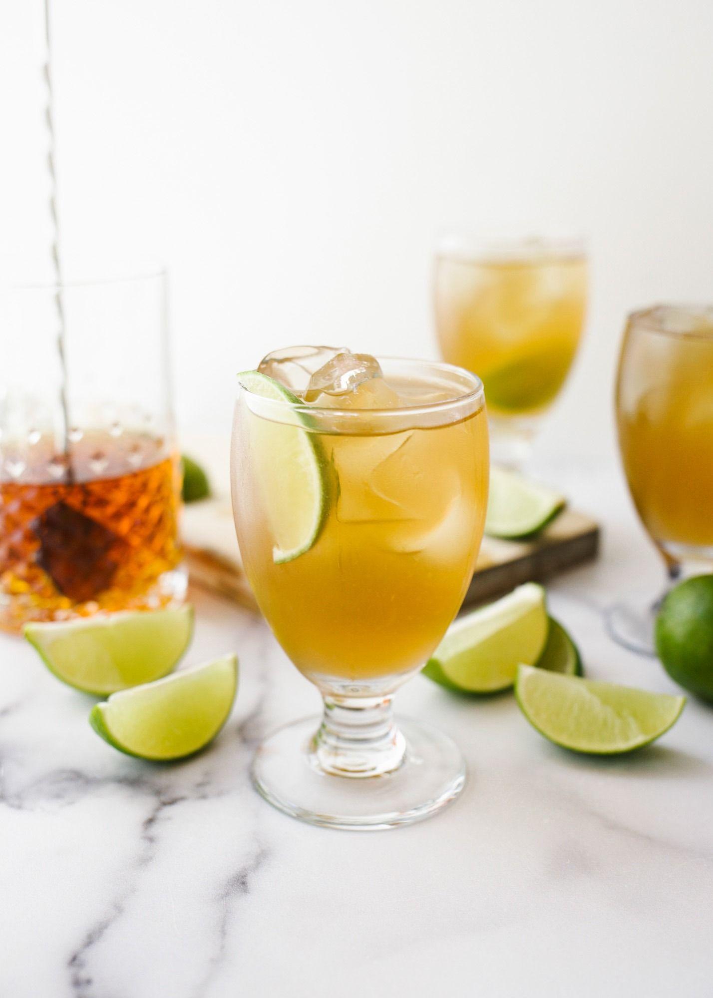 Ginger Bourbon Sweet Tea