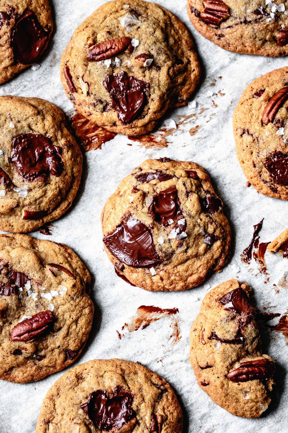 Vanilla Brown Butter Chocolate Chip Cookies