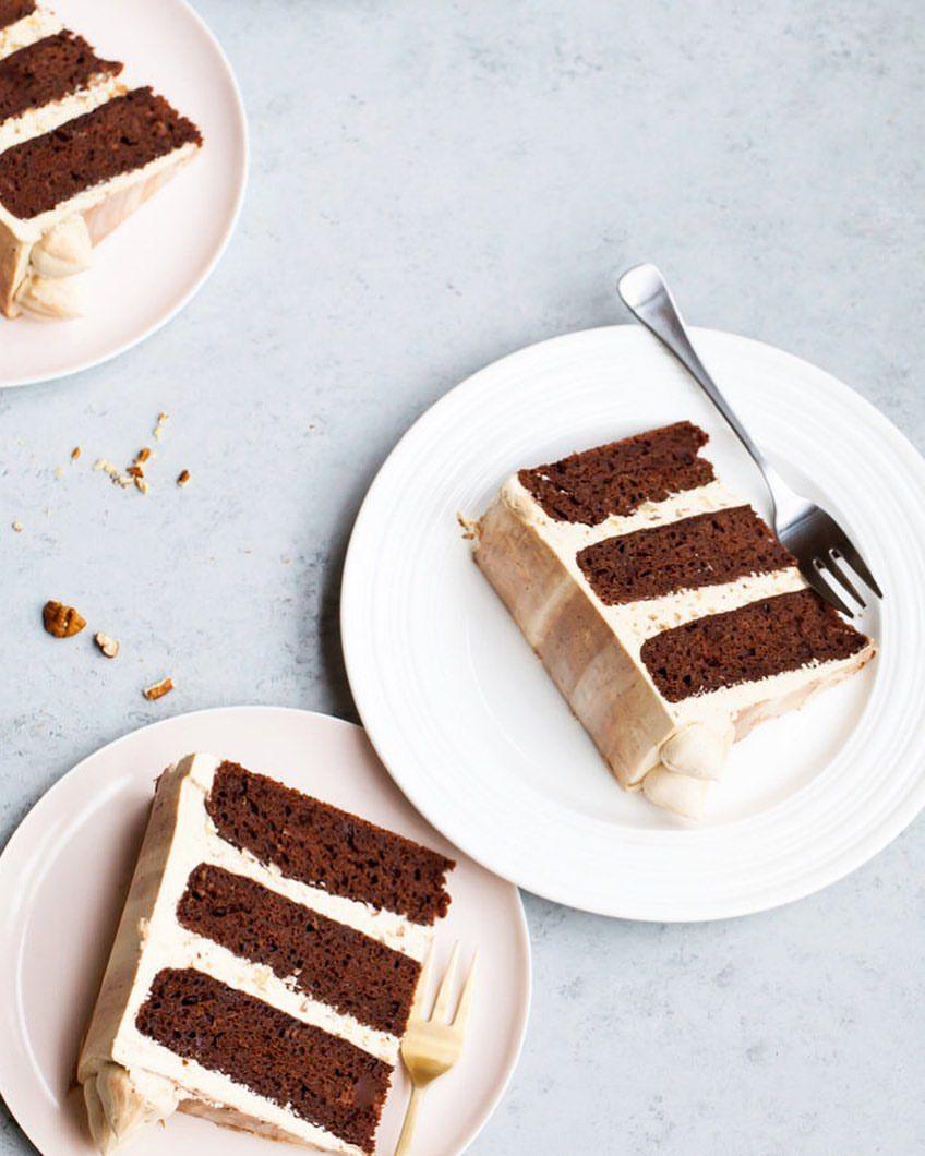 Marble Chocolate Bourbon Cake