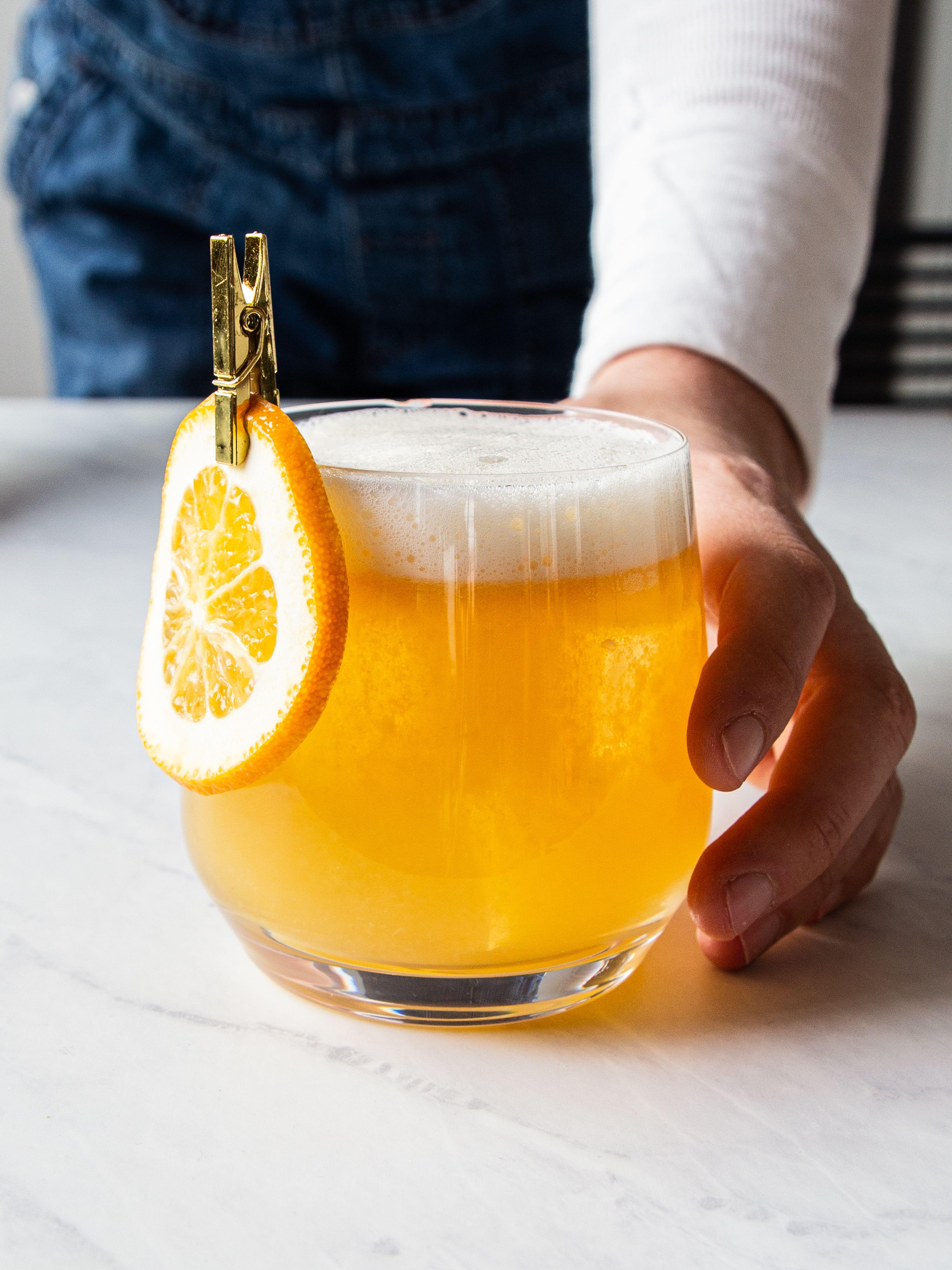 Whiskey Maple & Orange Sour