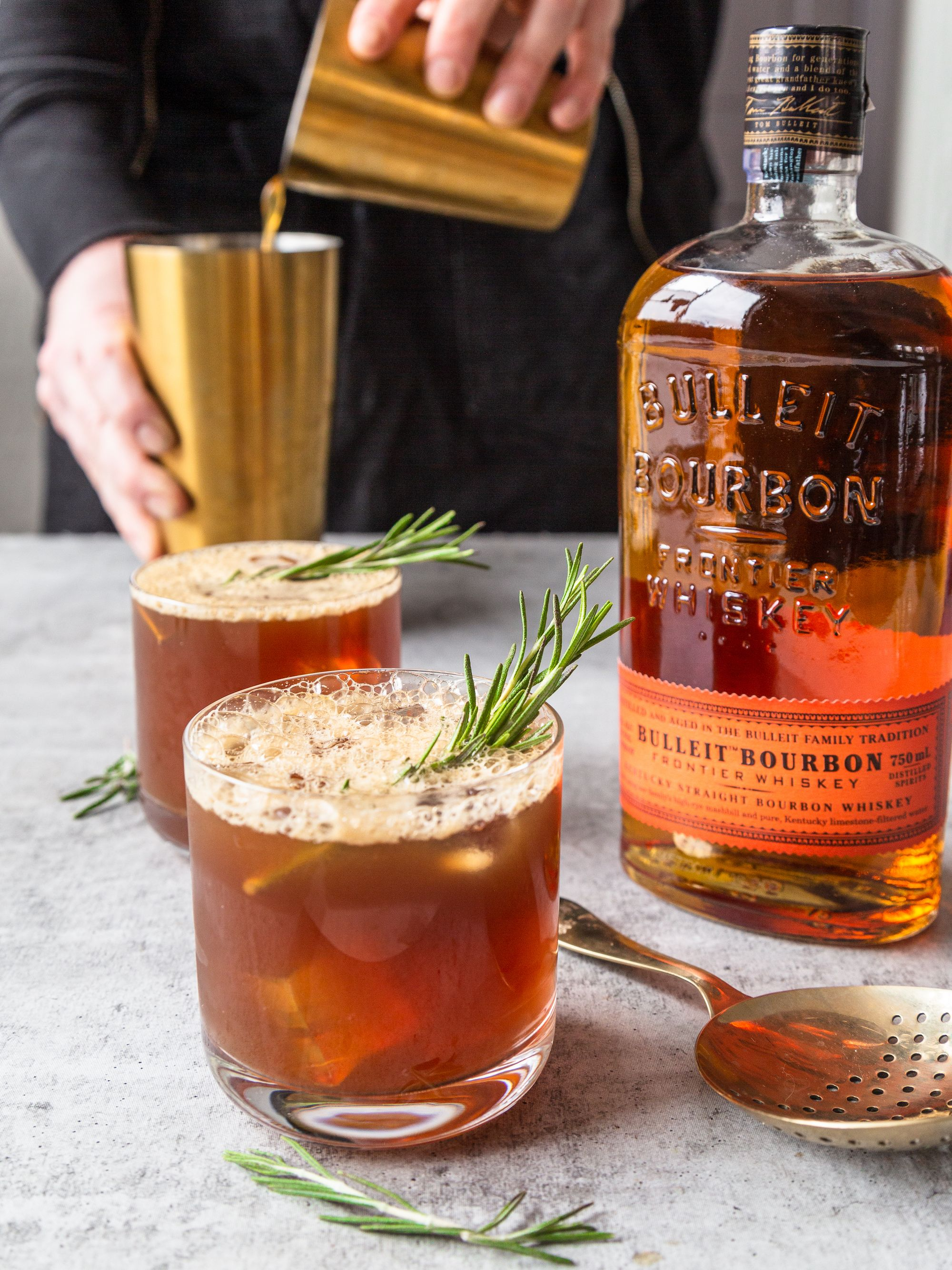 Bulleit Amaro Cocktail