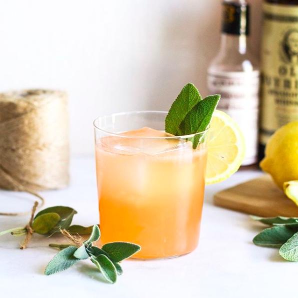 Sage Rye Cocktail