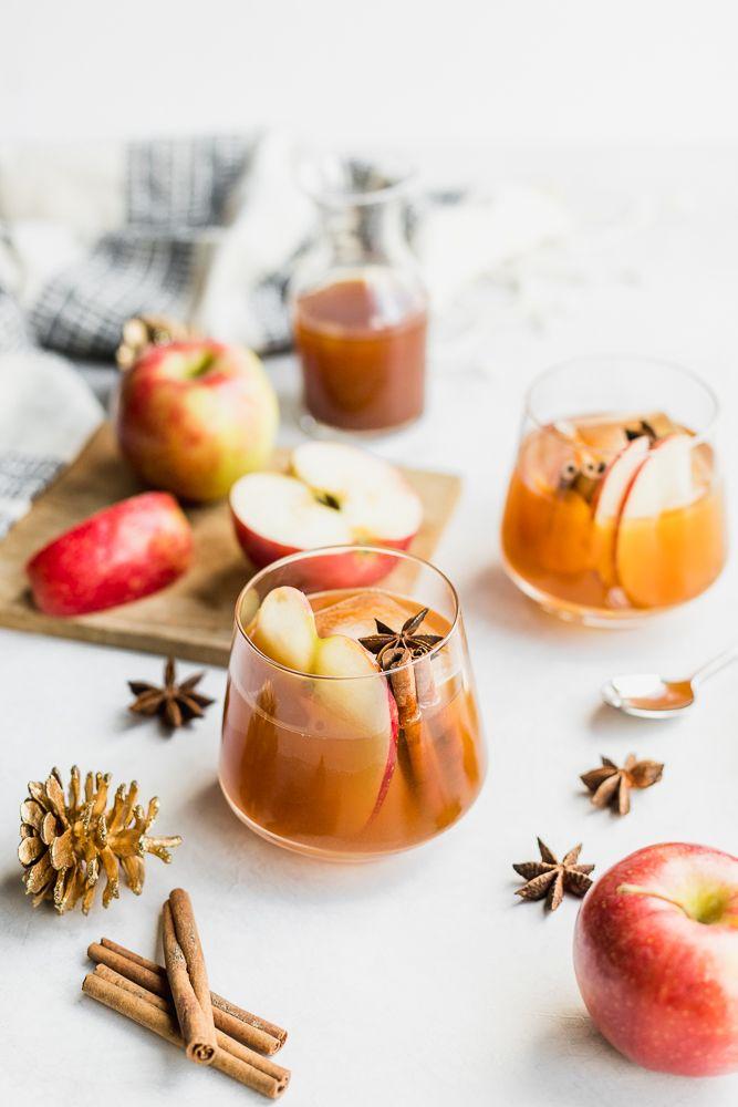 Apple Cider Walnut Old Fashioned