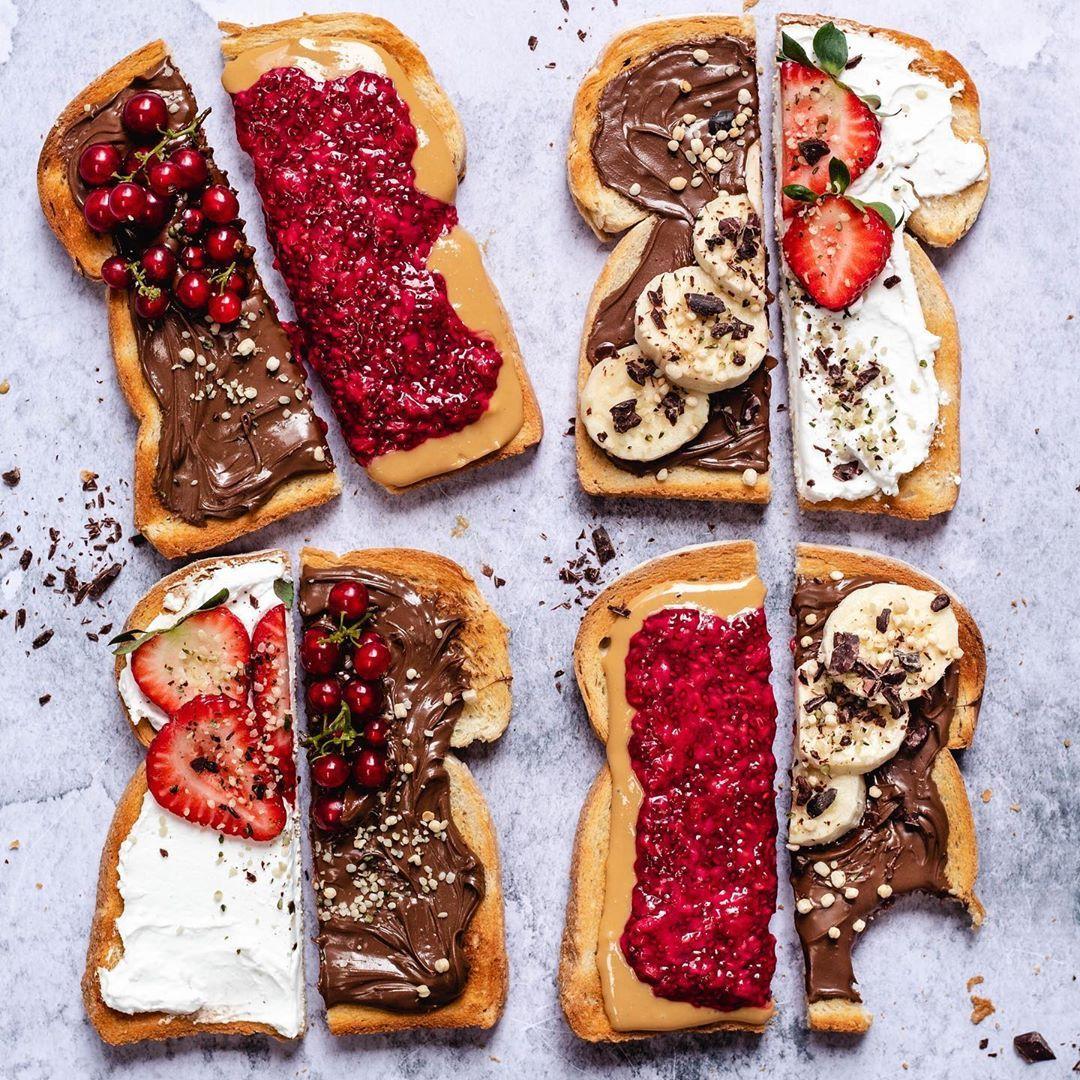 Toast 4 ways!