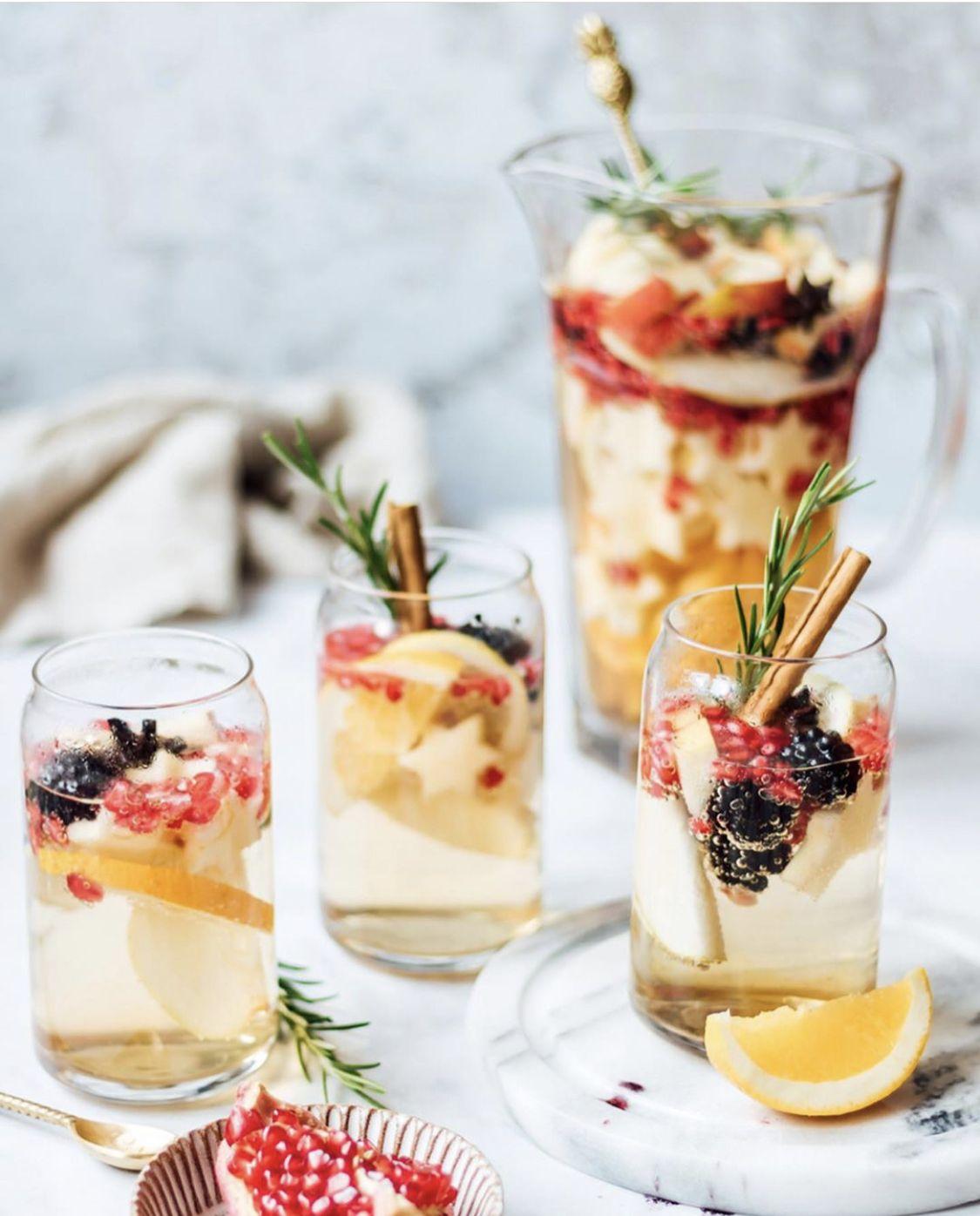 Fruity Sangria with Grape Juice