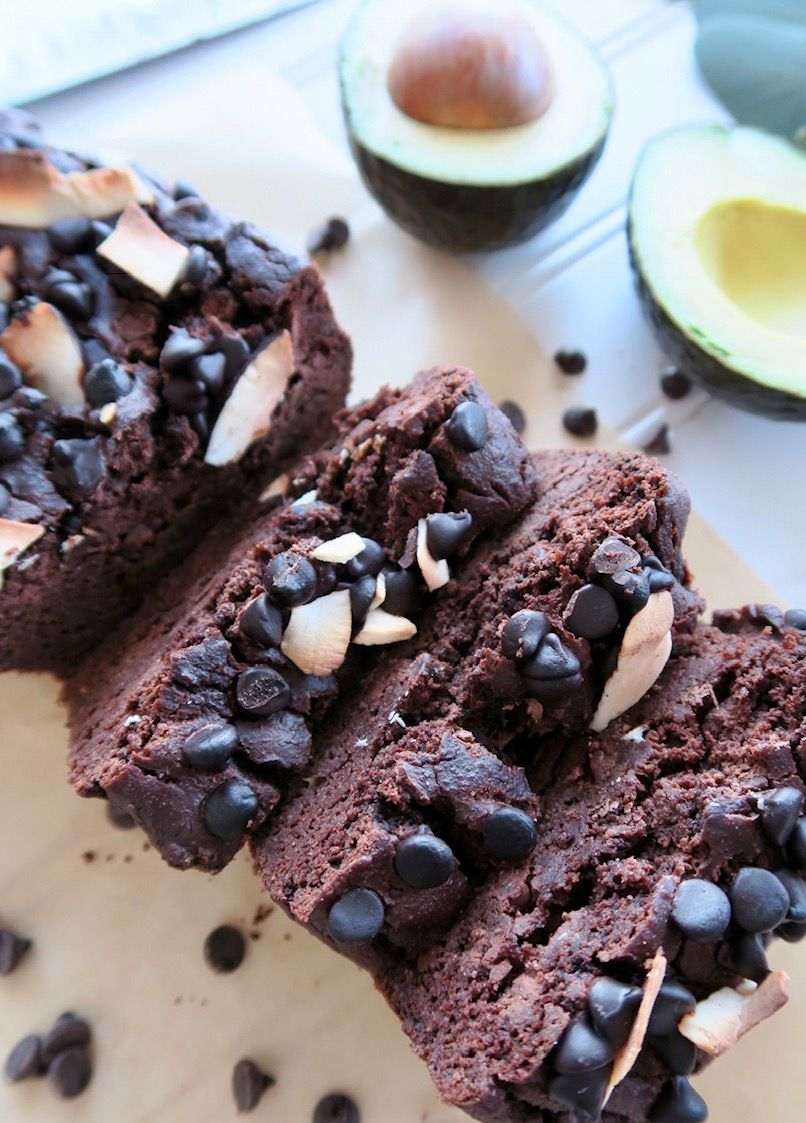 Keto Chocolate Avocado Bread