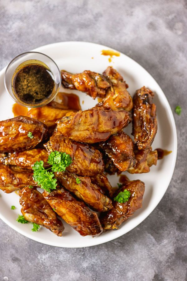 Sticky Asian Chicken Wings