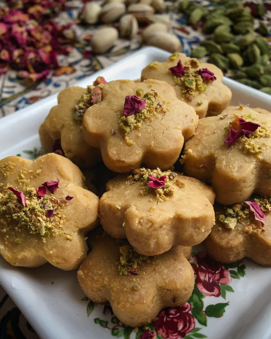 Persian Chickpea Cookies