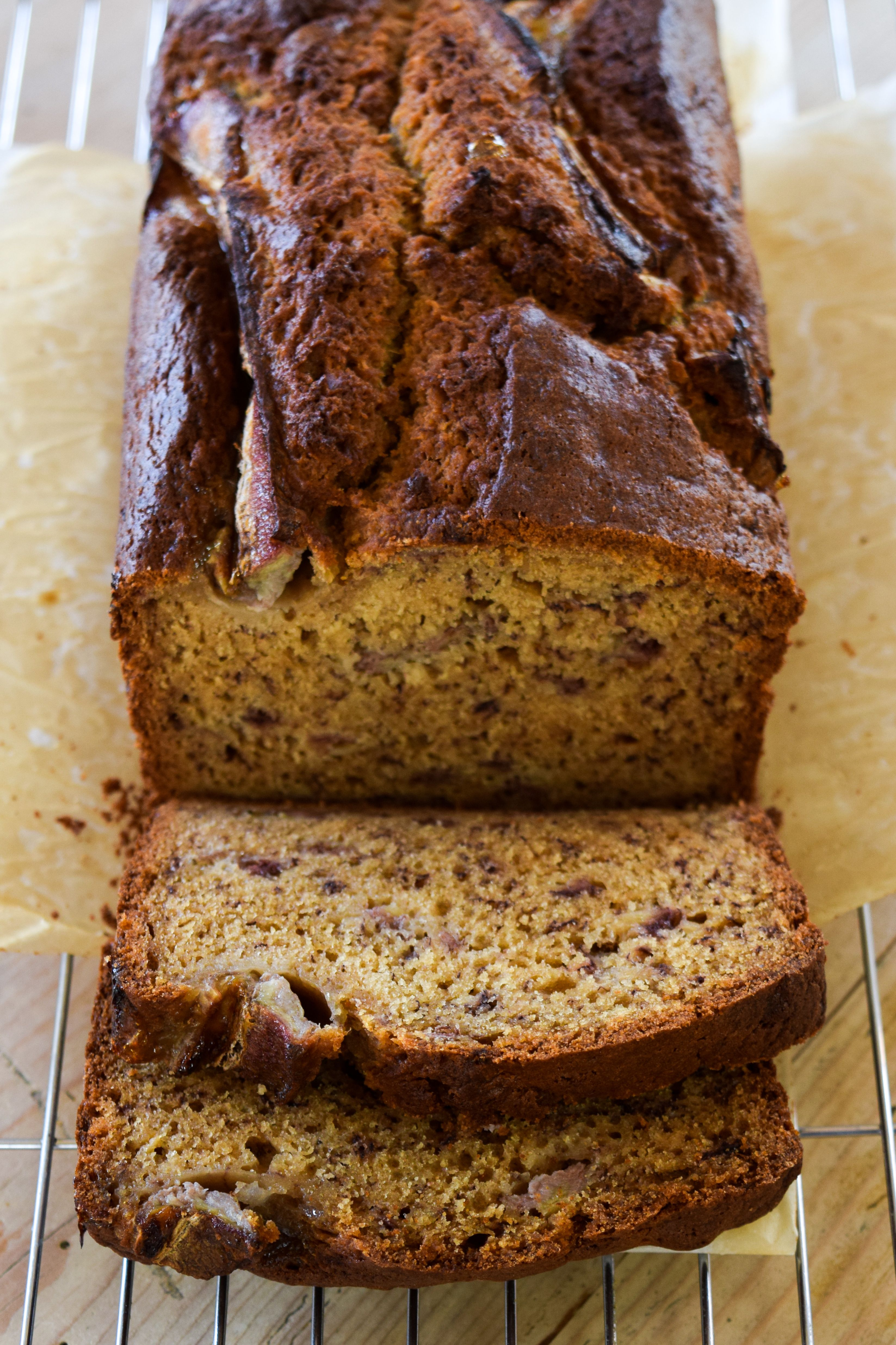 Brown Sugar Buttermilk Banana Bread