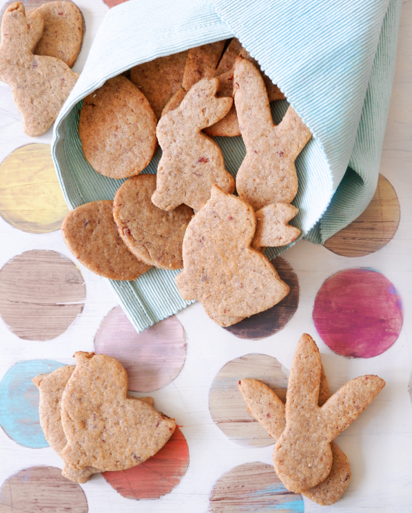 Chewy Walnut Biscuits