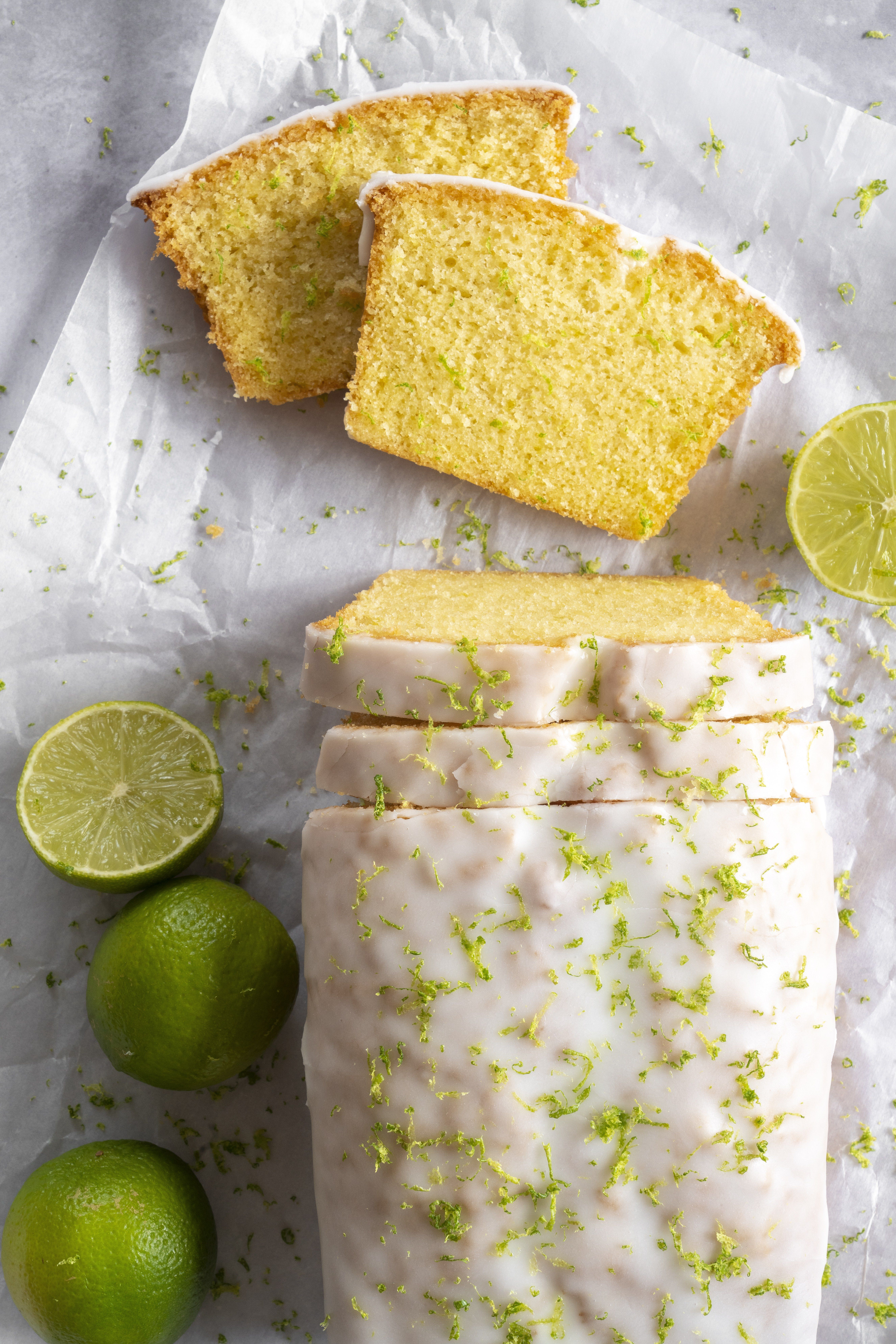 Gin and Tonic Glazed Cake