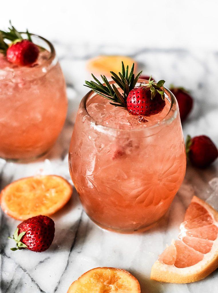 Grapefruit Rosé Sangria