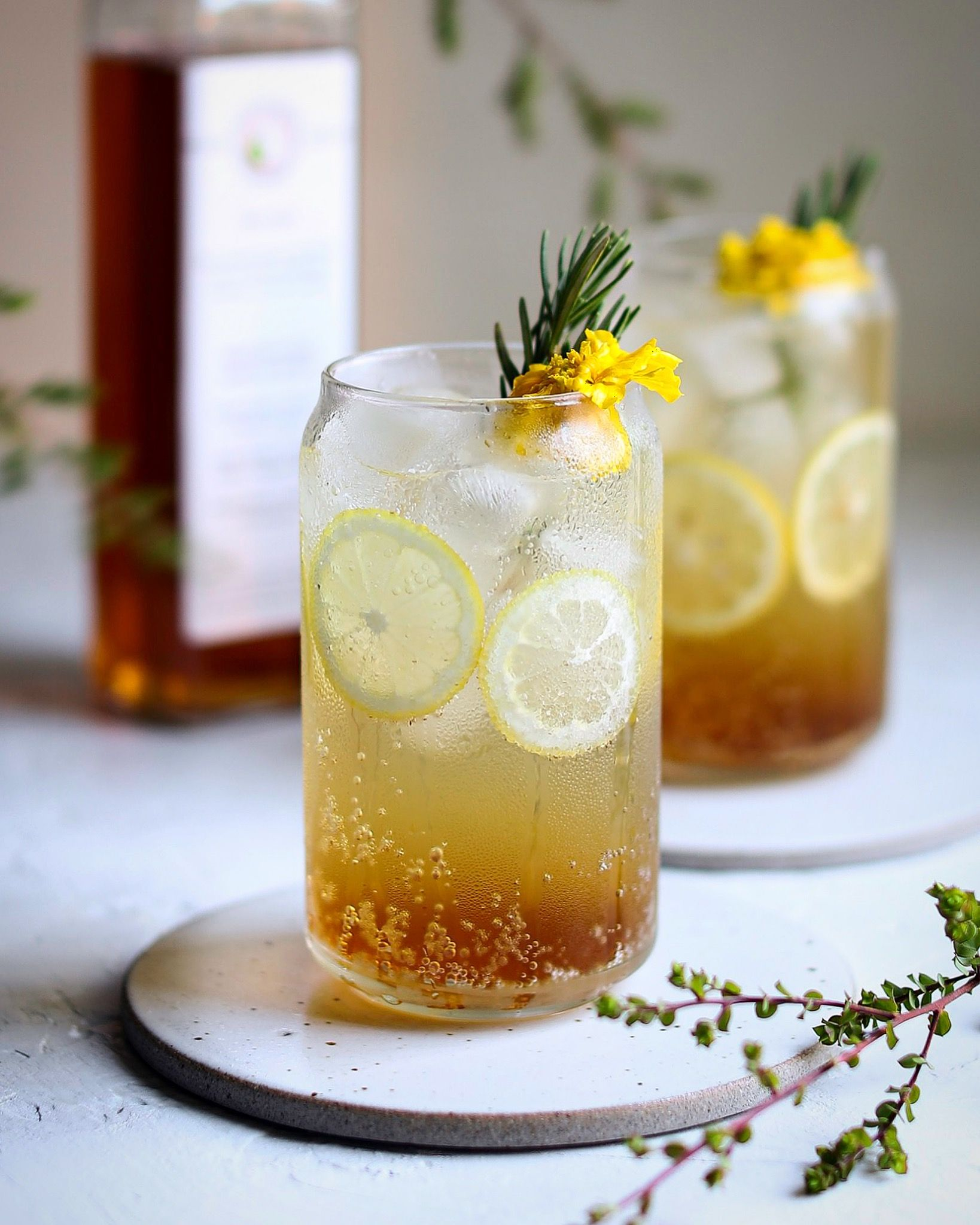 Korean Green Plum Maesil Iced Tea By Colorful Palate Quick Easy Recipe The Feedfeed