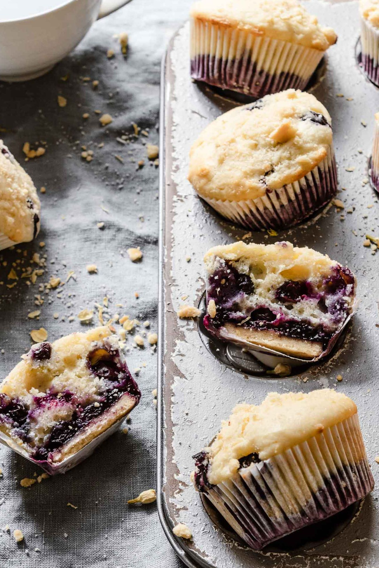 Mini Blueberry Pie Muffins