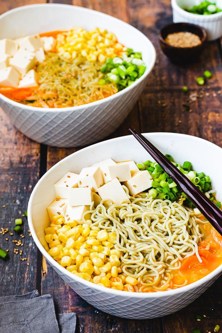 Spicy Sesame Miso Ramen