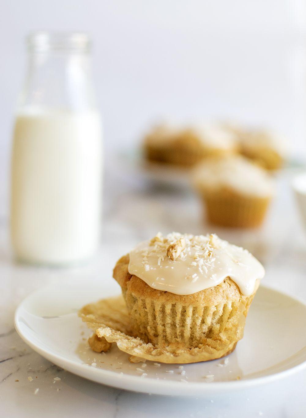 Cardamom Muffins with Honey Glaze
