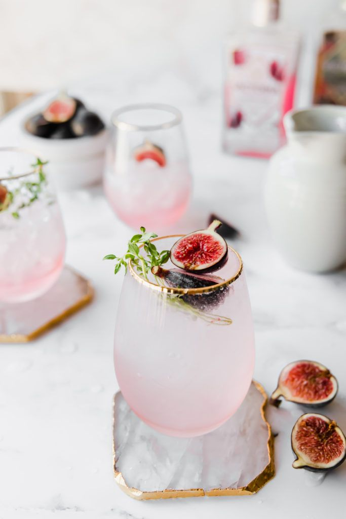 Fig Gin and Tonic