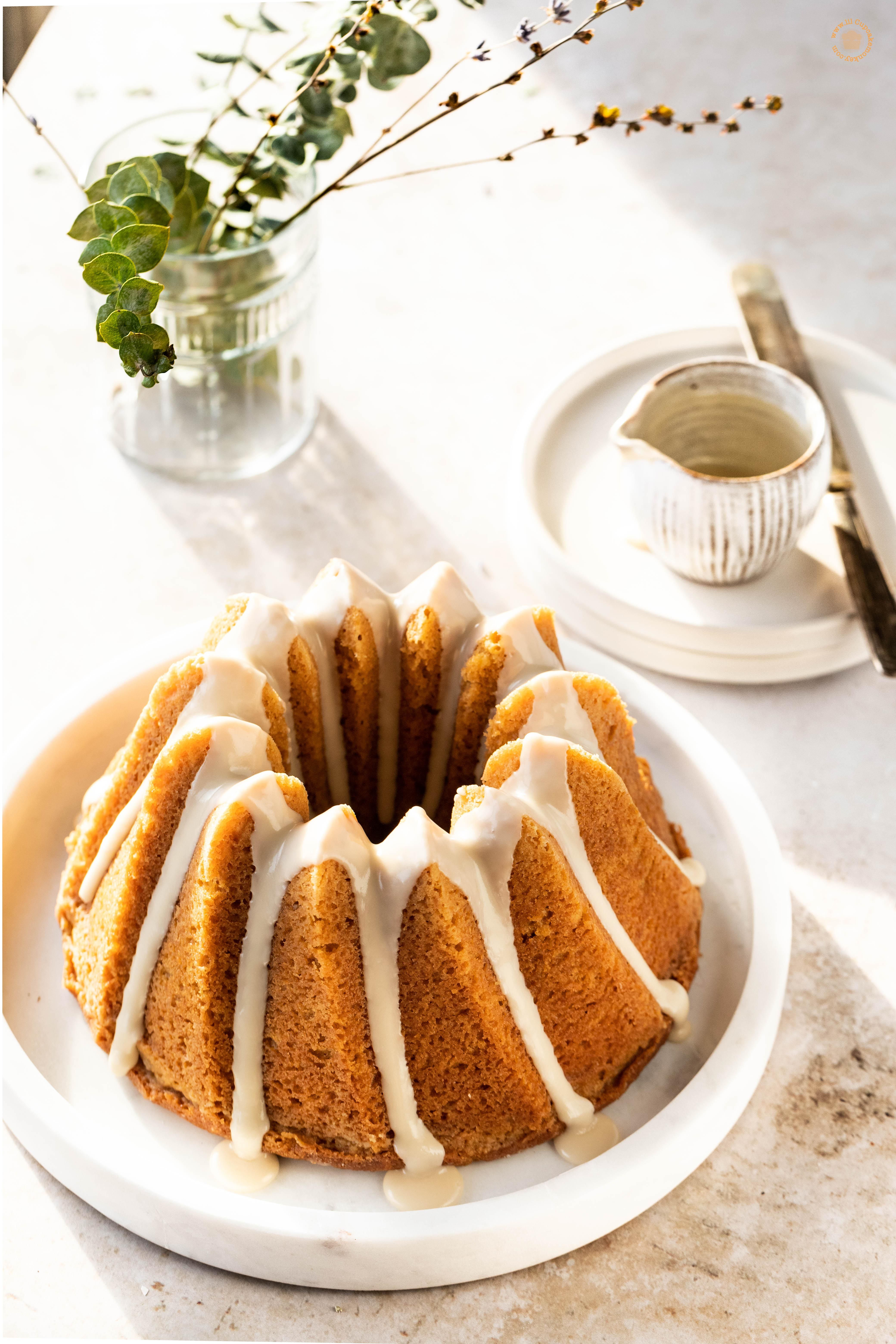 Bourbon Brown Butter  Bundt Cake
