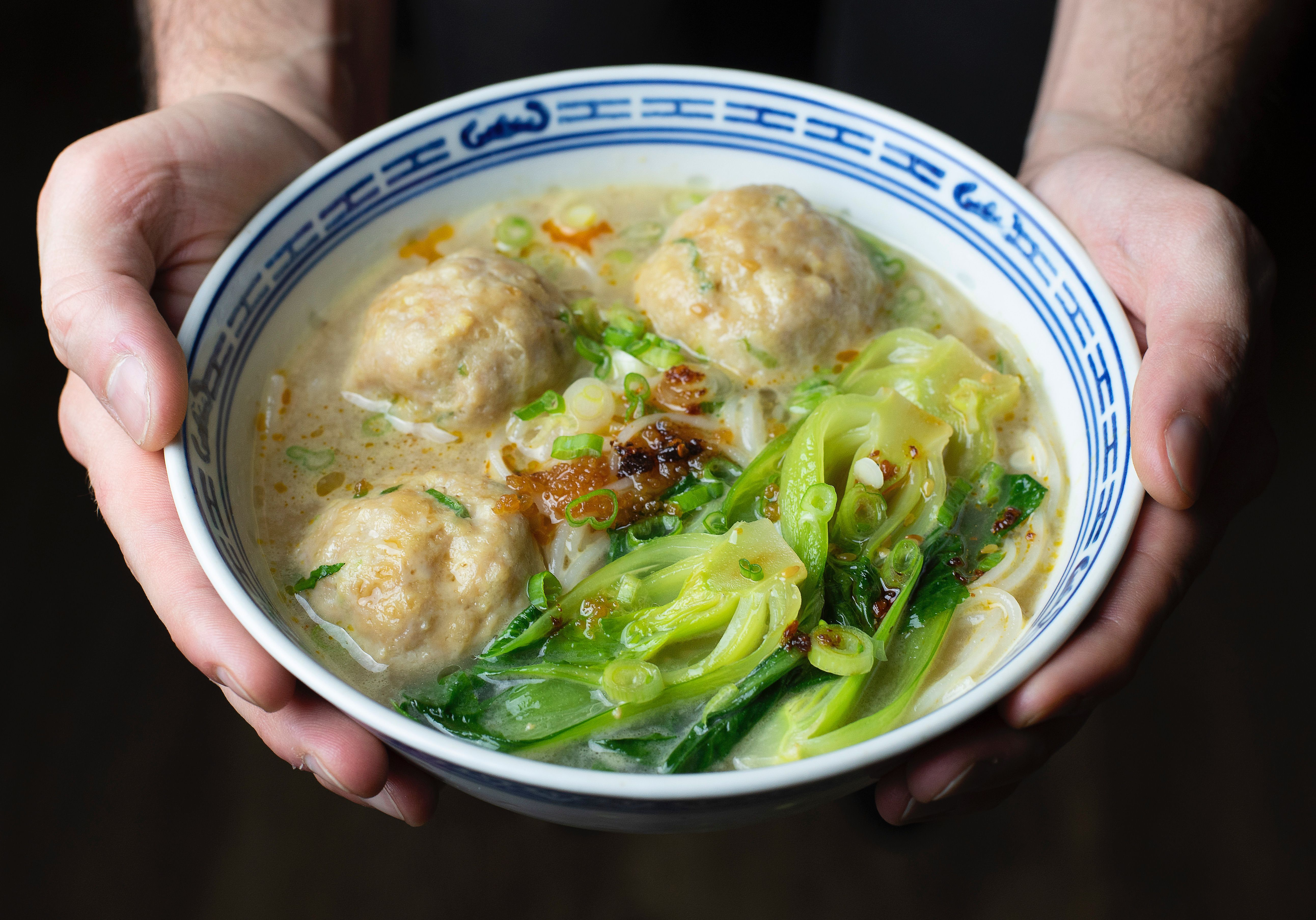 Shanghainese Chicken Meatball Soup