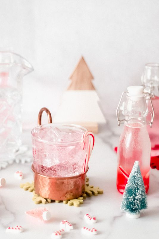 Peppermint Moscow Mules