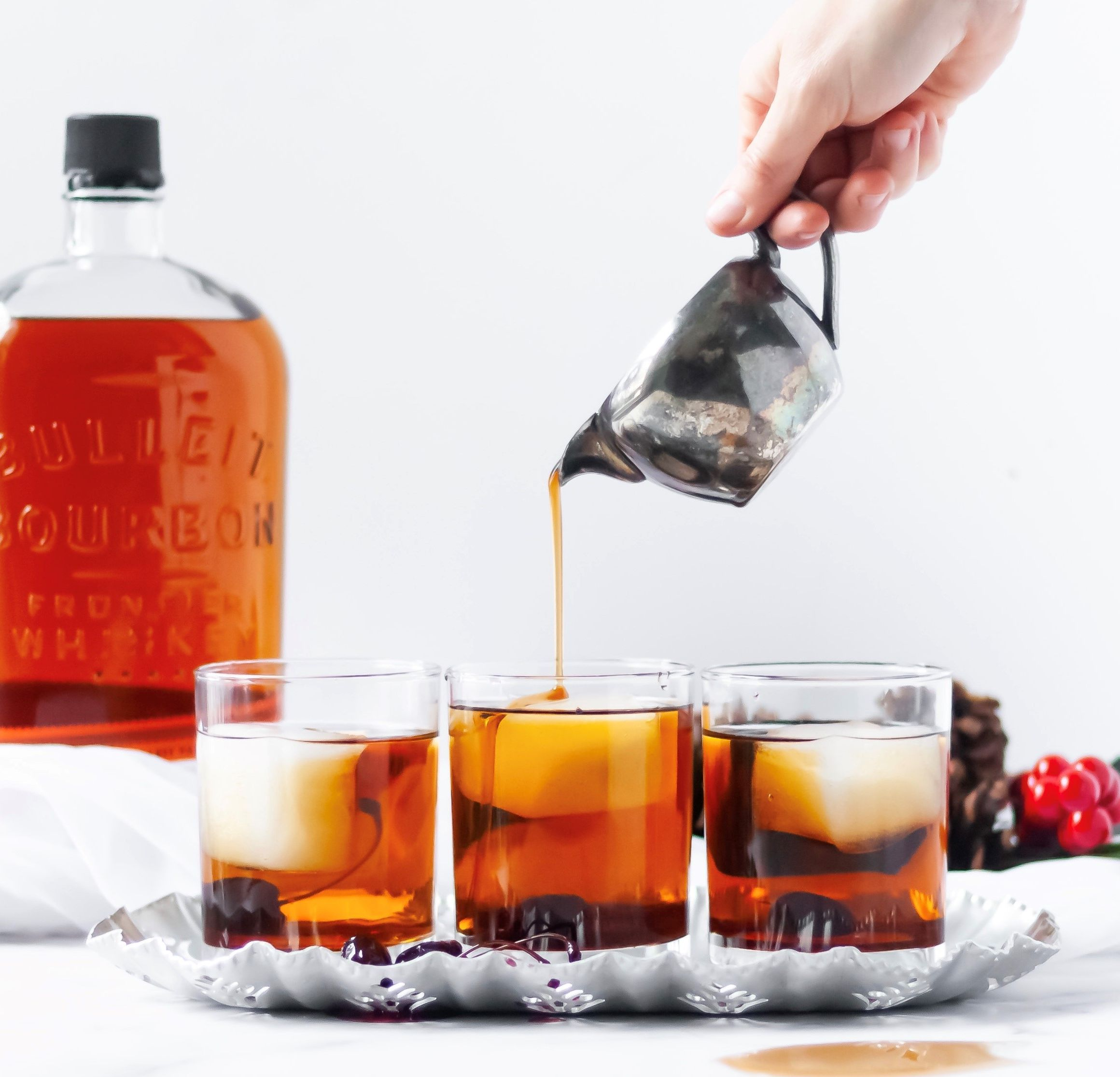 Bourbon and Maple Cocktail