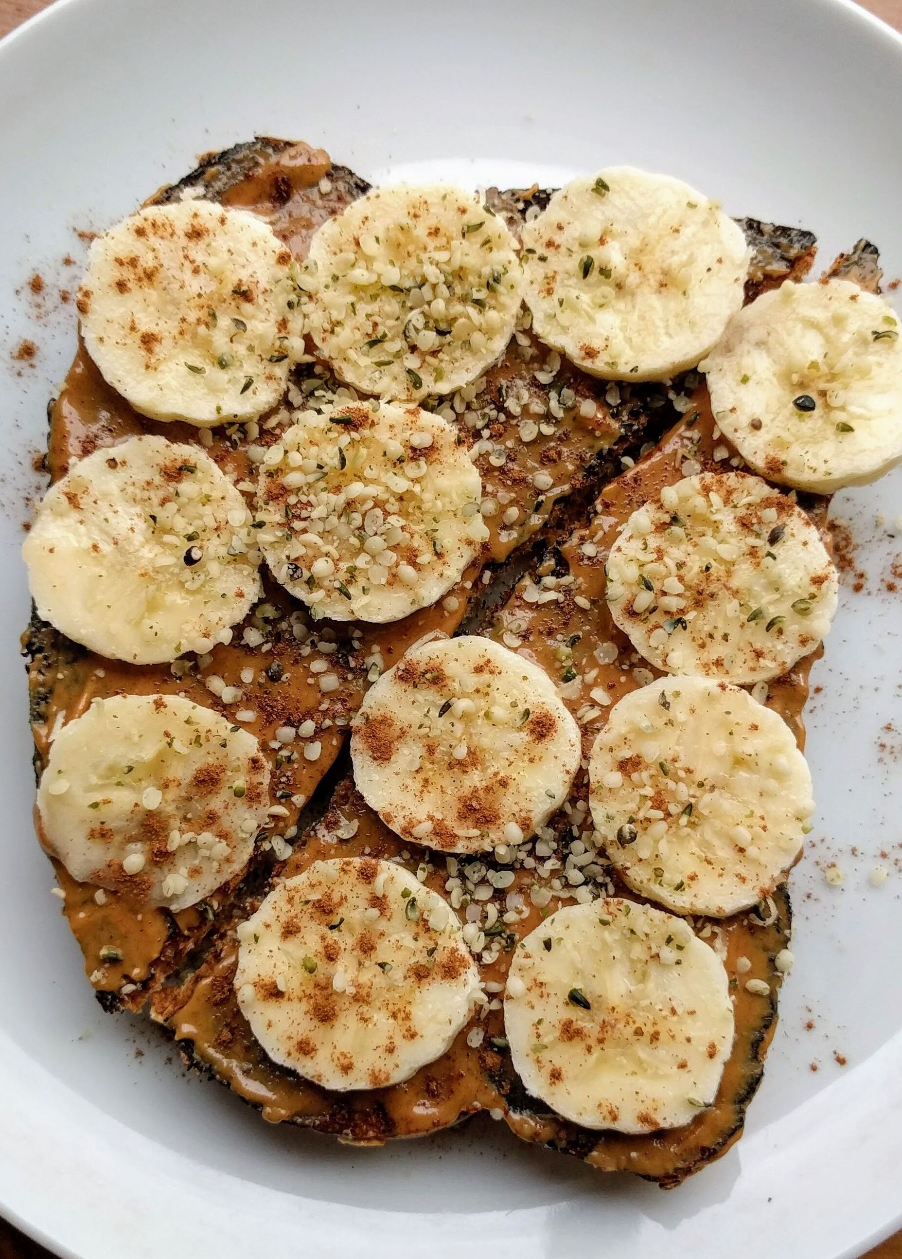 Nut Butter Banana Toast With Hemp Seeds By Cookinghealthy Co Quick Easy Recipe The Feedfeed