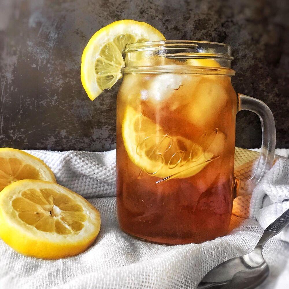 Lemon Iced Tea By Saralynn Bakes Quick Easy Recipe The Feedfeed