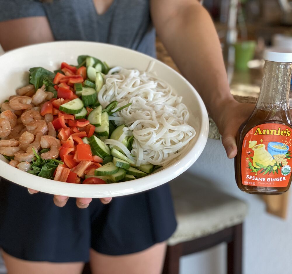 Asian Inspired Salad with Shrimp recipe ...
