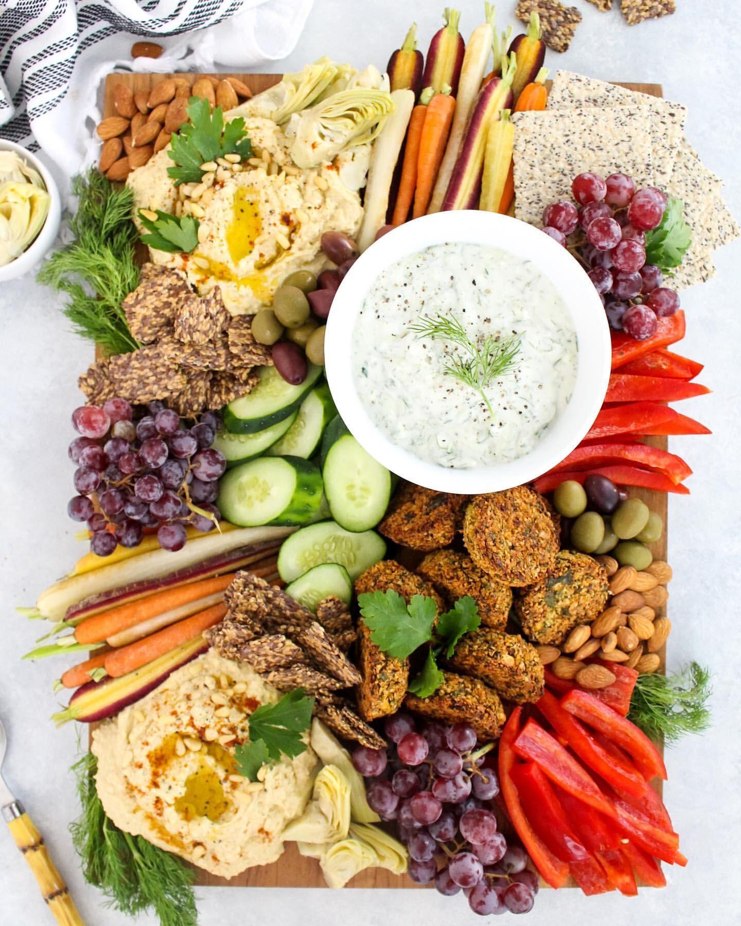 Mediterranean Inspired Mezze Platter By Fitlivingeats Quick Easy Recipe The Feedfeed