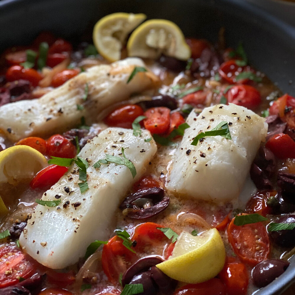 Mediterranean Cod recipe by Reed Dunn ...