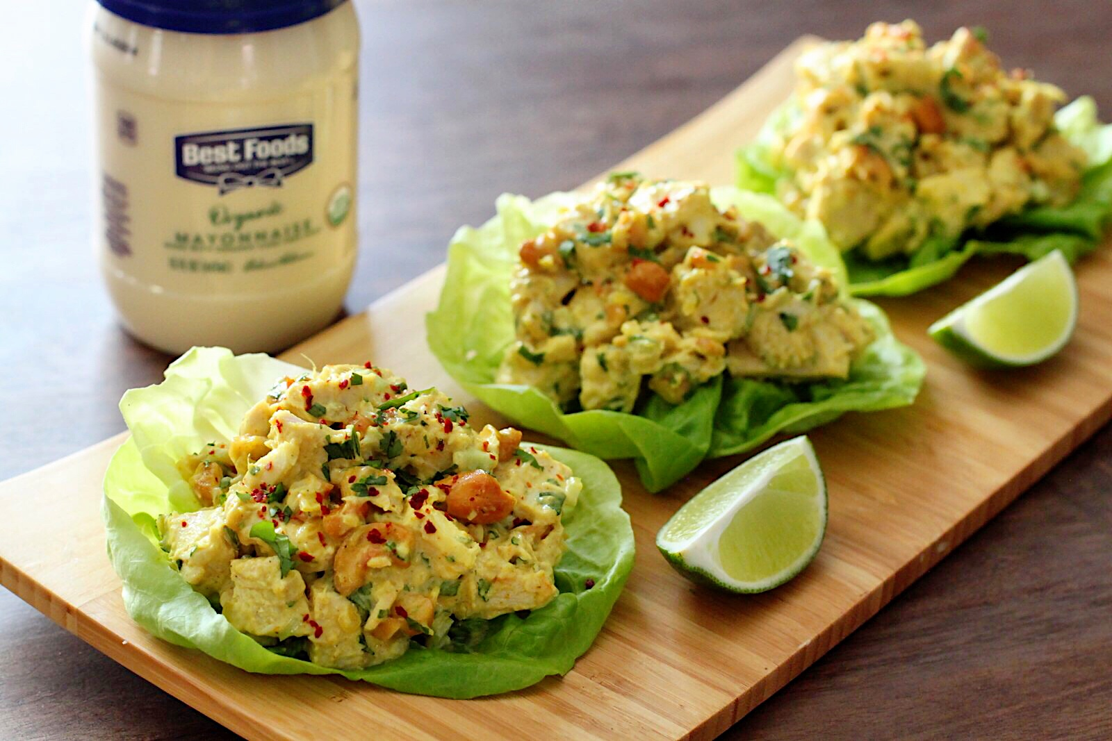 Curry Chicken Salad Lettuce Wraps By Kevmasse New York City