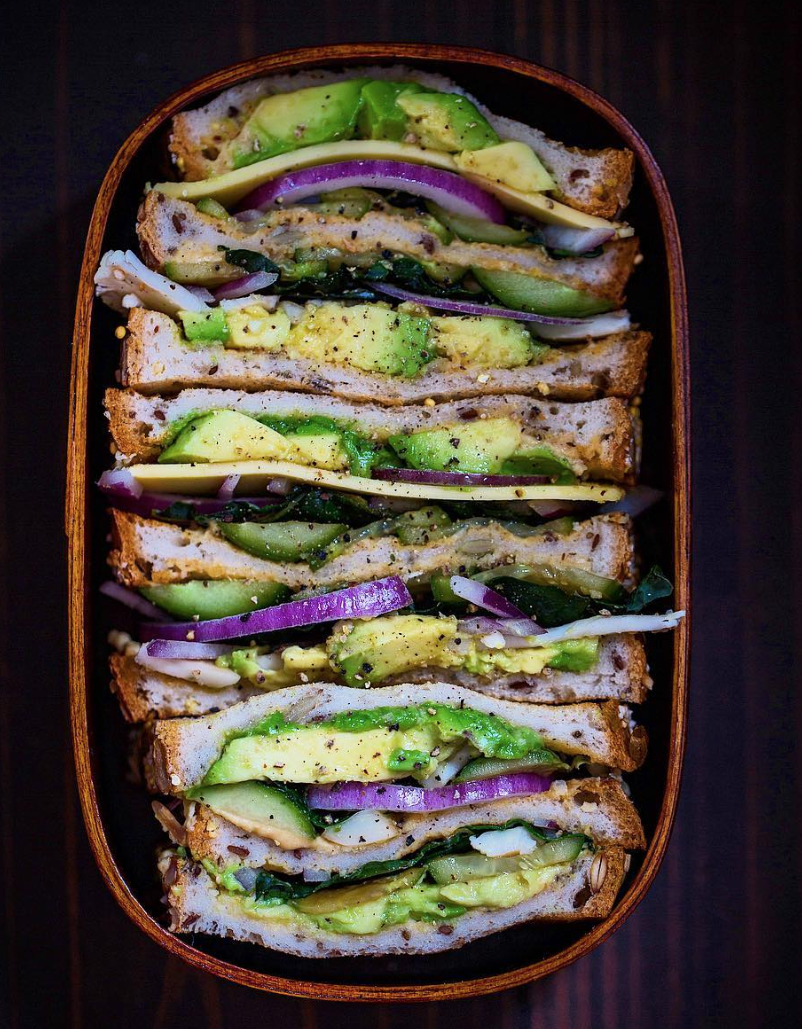 Gluten Free Vegetable Sandwich