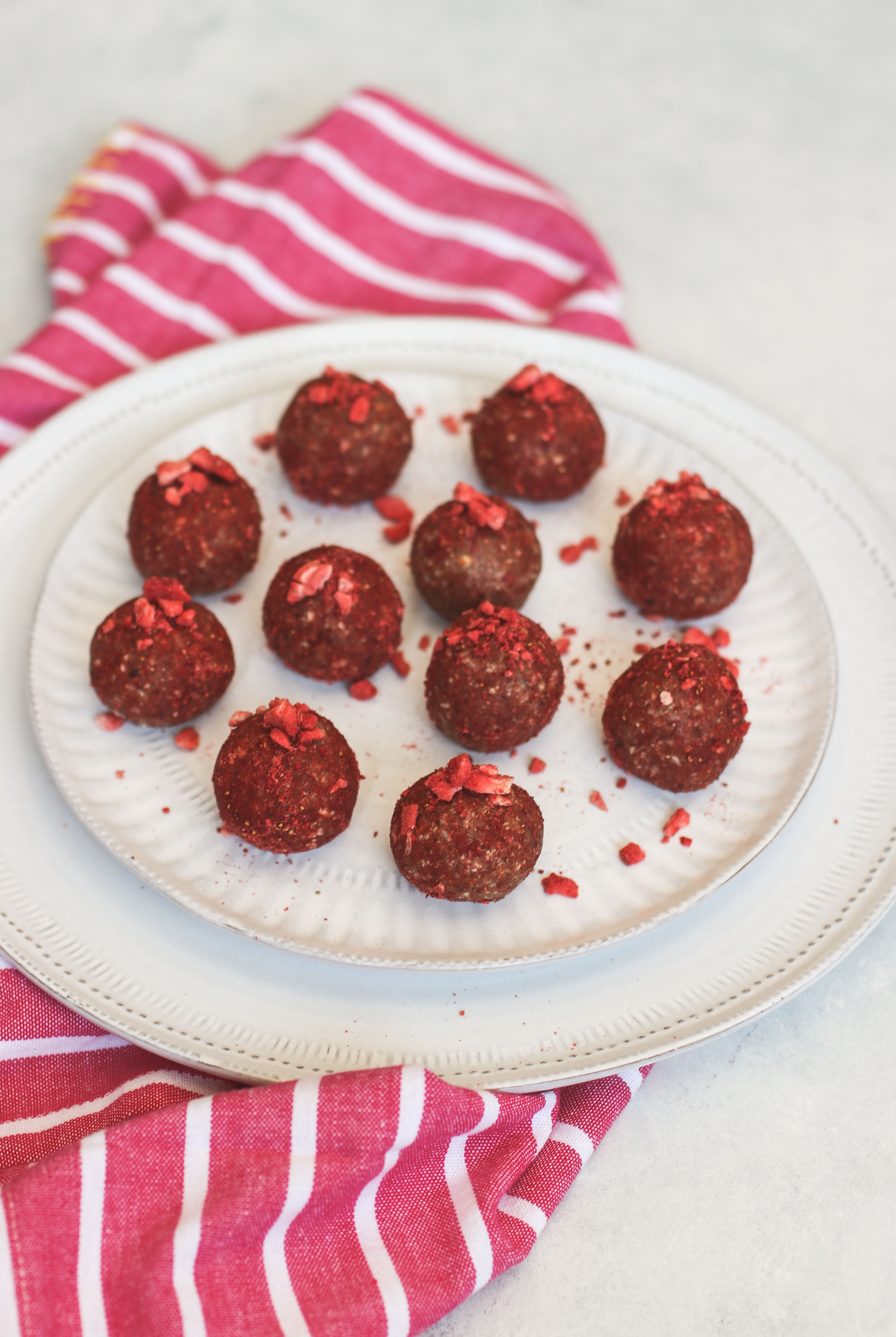 Strawberry Shortcake Bliss Balls