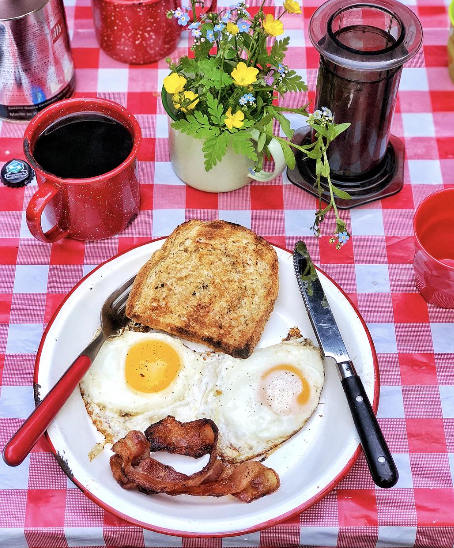 Camp Fire Breakfast Tips