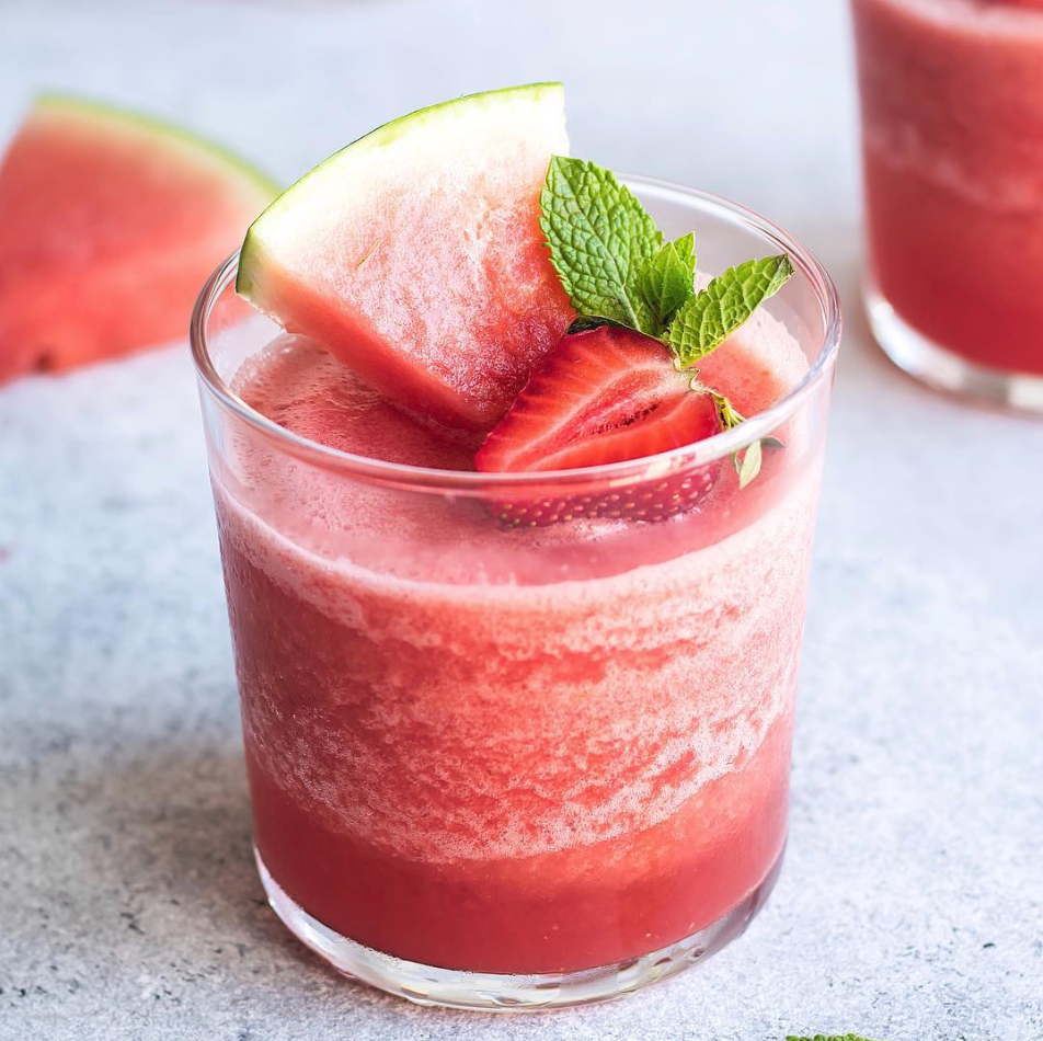 Watermelon and Mint Frozé