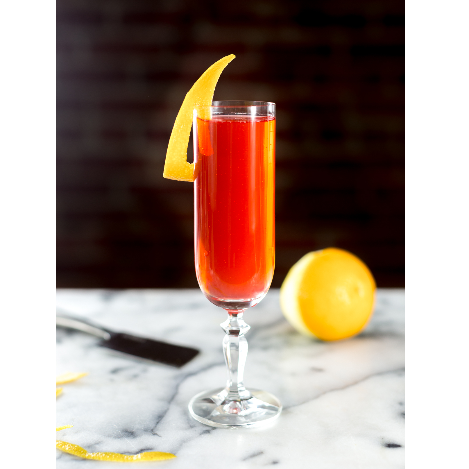 Blood Orange Vodka Spritz